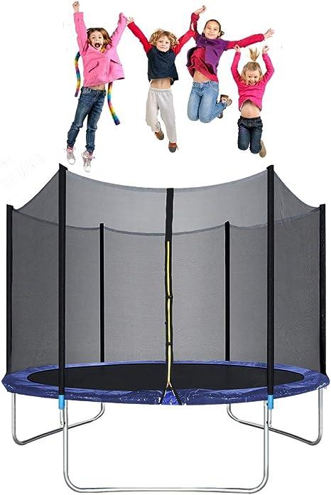 Bigacc Trampolín Redondo de 10 pies para niños Sportspower ...
