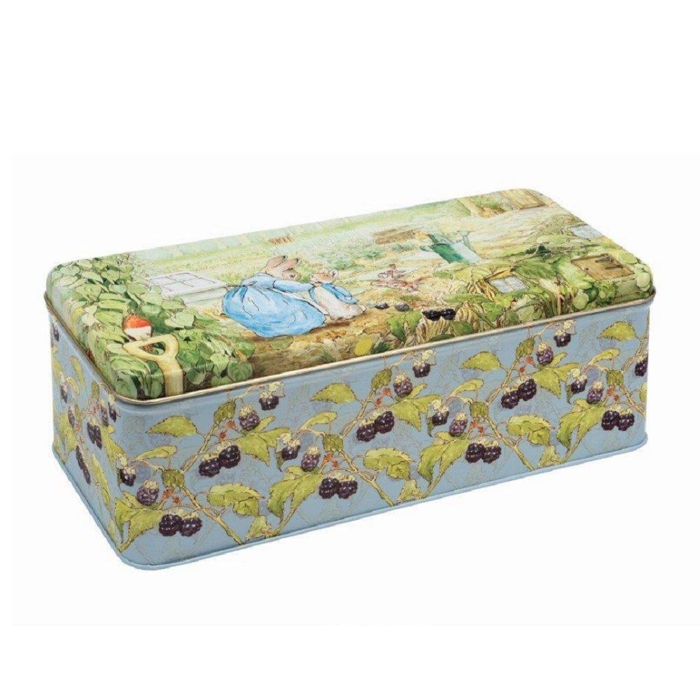 Beatrix Potter Peter Rabbit Long Deep Rectangular Storage Tin