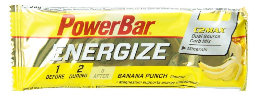 PowerBar Energize Bar バナナパンチ 25本入り PBE1P B00O2LG0QQ