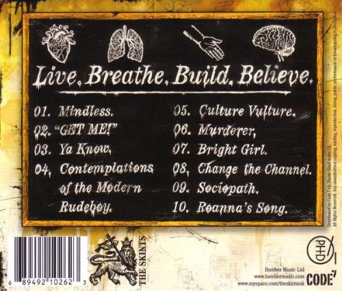 Live. Breathe. Build. Believe. by Bomber Music (Broken Silence)