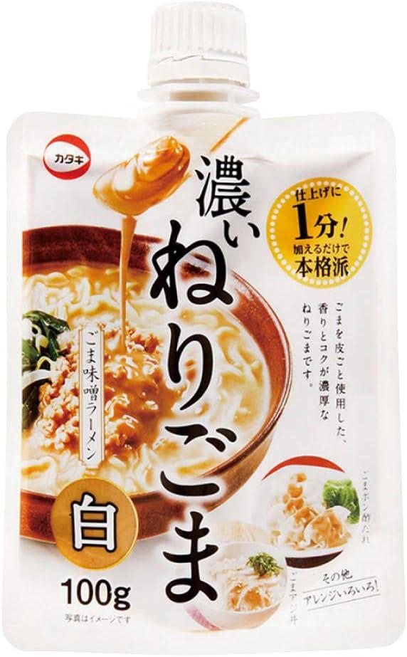 カタギ食品  濃いねりごま(白) 100g  8袋