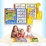 YOOMUN Muslim Islamic Reading Machine Quran Electronic, English&Arabic Eord, The First Children E-book- Best Gift Toy