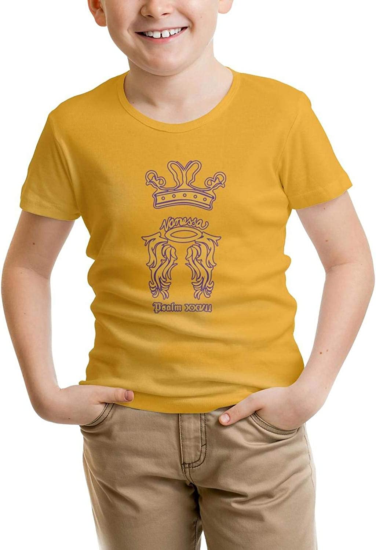 Kids Short Sleeve T-Shirt Sports Mamba Fashion Regular Tee for Boys