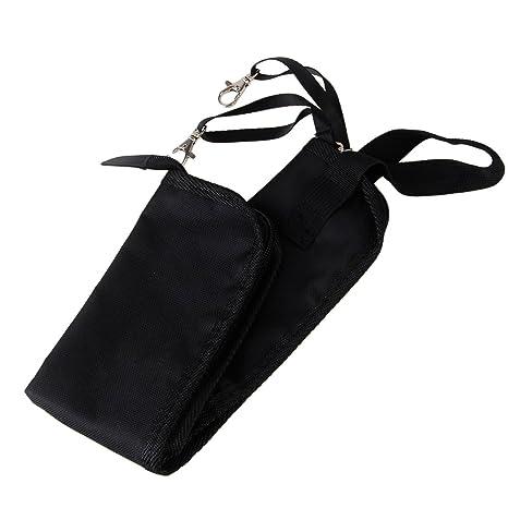 Yibuy, estuche para baquetas negro 600d de tela Oxford ...