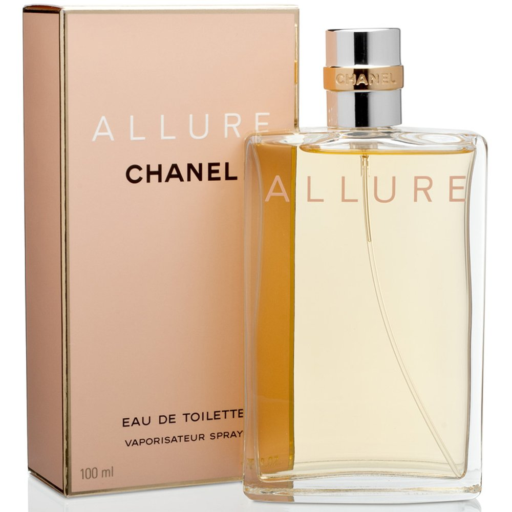 Chânel Allure Eau De Toilette Spray for Women. EDT 3.4 OZ / 100 ml
