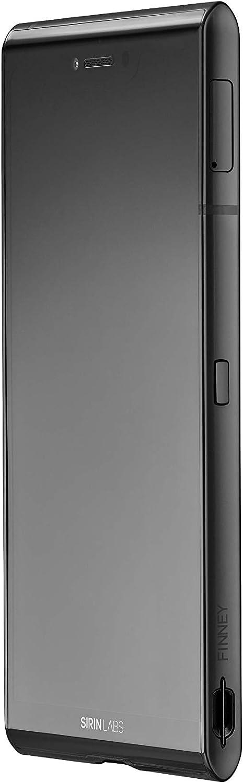 Smartphone Blockchain Finney sous Sirin OS par Sirin Labs mod/èle Elegant Noir Charbon avec Portefeuille de Stockage /à Froid int/égr/é