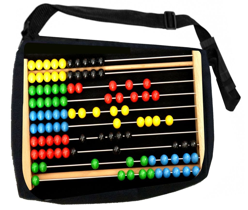 Pencil Case Set Abacus-TM School Messenger Bag