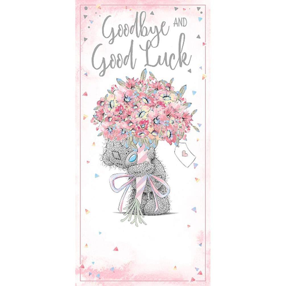 Me To You Bear Goodbye /& Good Luck Card