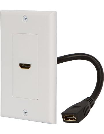 amazon com wall plates connectors electronics price 8 97
