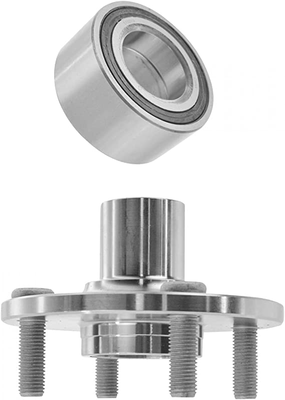Front Wheel Bearing fits 2004 Toyota Echo for Left /& Right Side Set of 2