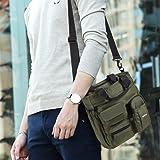 YUOTO Messenger Bag Multiple Pocket Travel Work