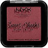 NYX PROFESSIONAL MAKEUP Sweet Cheeks Shimmer Blush, Bang Bang