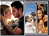 Triple Romance Movies The Notebook / Time Traveler's Wife & The Lucky One 3 DVD Love Bundle Set