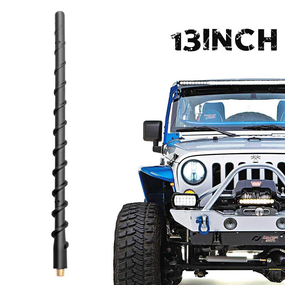 Gift a Jeep Keychain VOFONO 13 Inch Antenna for Jeep Wrangler JK JKU JL JLU