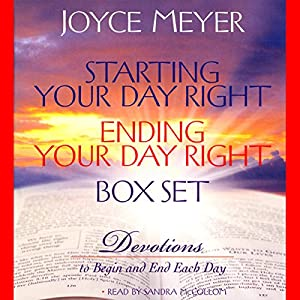 Starting Your Day Right/Ending Your Day Right Box Set Audiobook