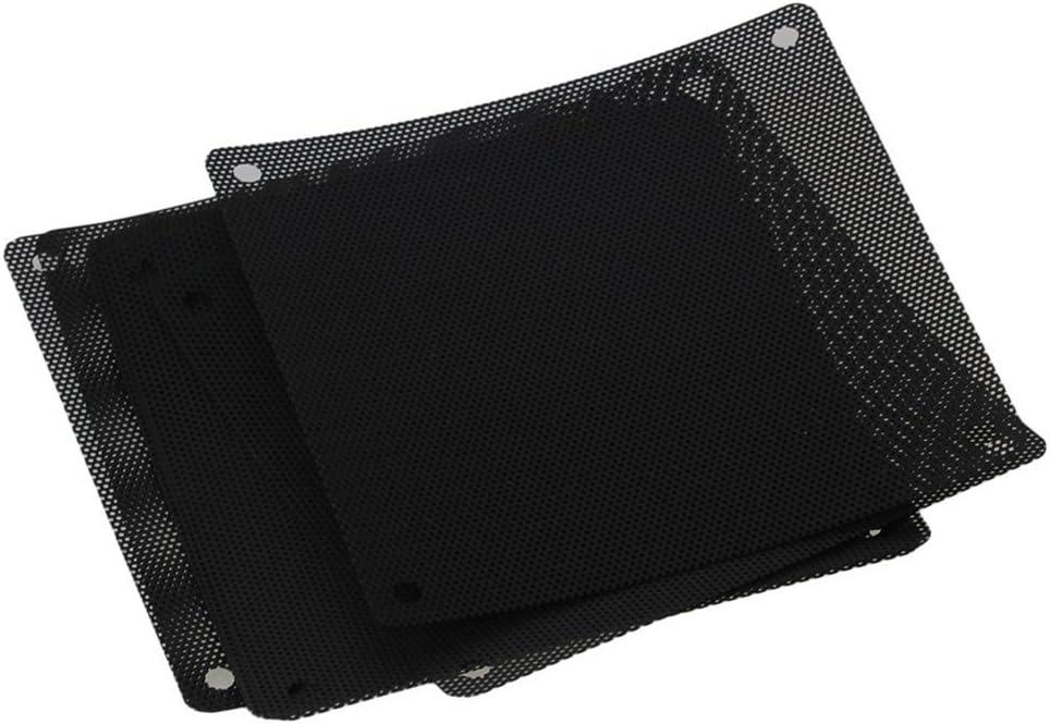 WINOMO Premium ordenador PC Cooler Ventilador carcasa a prueba de polvo de malla parrilla 120mm -10unidades