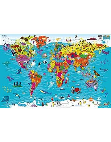 Collins Children World Map (90x60)