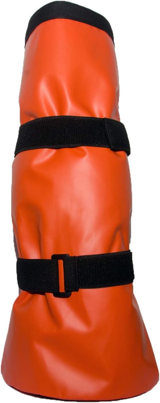 WTPR Envuelto Caballo Pierna Bota Soaker Bolsa equino Cuidado de inmersión Cubo de Hielo Tratamiento de Zorzal o infección bacteriana con EVA Pad
