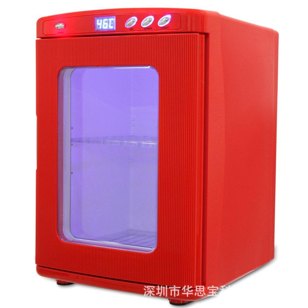 赤ミニ冷蔵庫,25 L 車ミニ コンパクト冷蔵庫車や家庭デュアル腹膜インキュベーター ポータブルのためのインキュベーター寝室,オフィスまたは寮   B07DGR7YZN