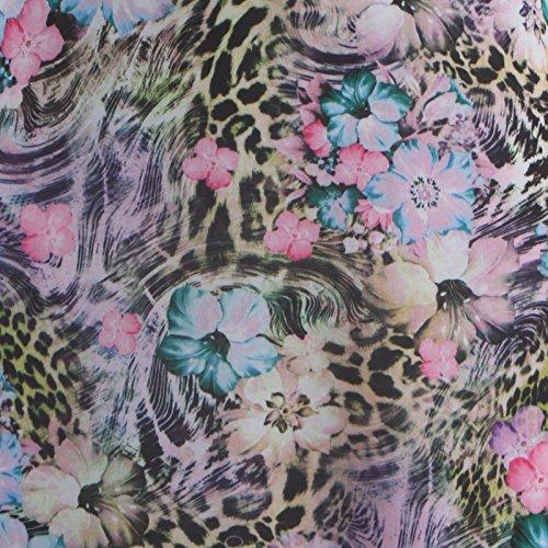 floral 3 vase Manches Robe Yellow Splash 36 longue 4 Femmes 54 qfWvnFOF