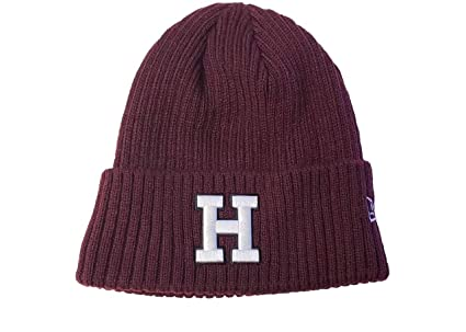 Amazon.com   Harvard Crimson Adult NCAA Core Classic Knit Beanie ... c79b52d1f7c4