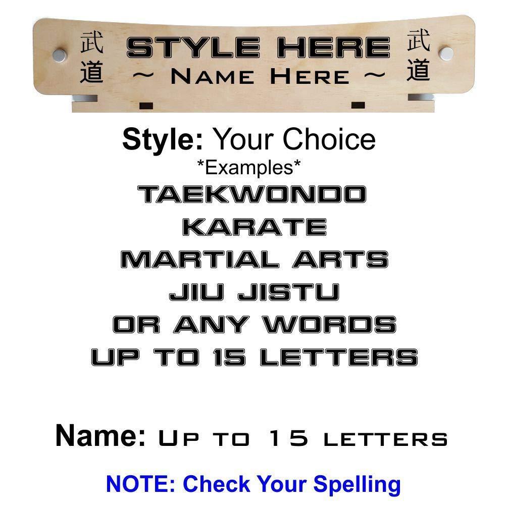 Amazon.com: RenKata - Cinturón de 12 niveles Taekwondo ...