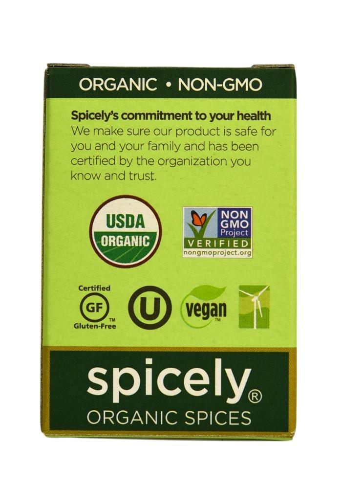 SPICELY Organic Whole Marjoram, 0.1 OZ