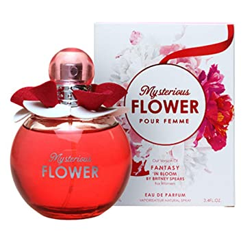 Mysterious Flower by Mirage Brand Fragrances inspired by FANTASY IN BLOOM BY BRITNEY SPEARS FOR WOMEN