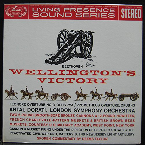 DORATI beethoven wellington's victory Used_VeryGoodLPS 9000 Stereo 1961 Living (9000 Stereo)