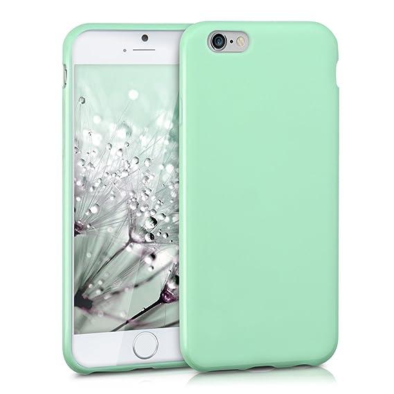 2374e4bfb4a kwmobile 35176.07 Funda para teléfono móvil Color Menta - Fundas para  teléfonos móviles (Funda,