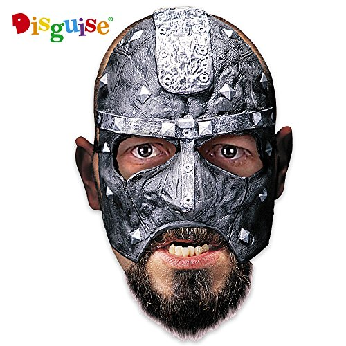 Disguise Costumes Executioner Vinyl Chinless Mask, Adult -