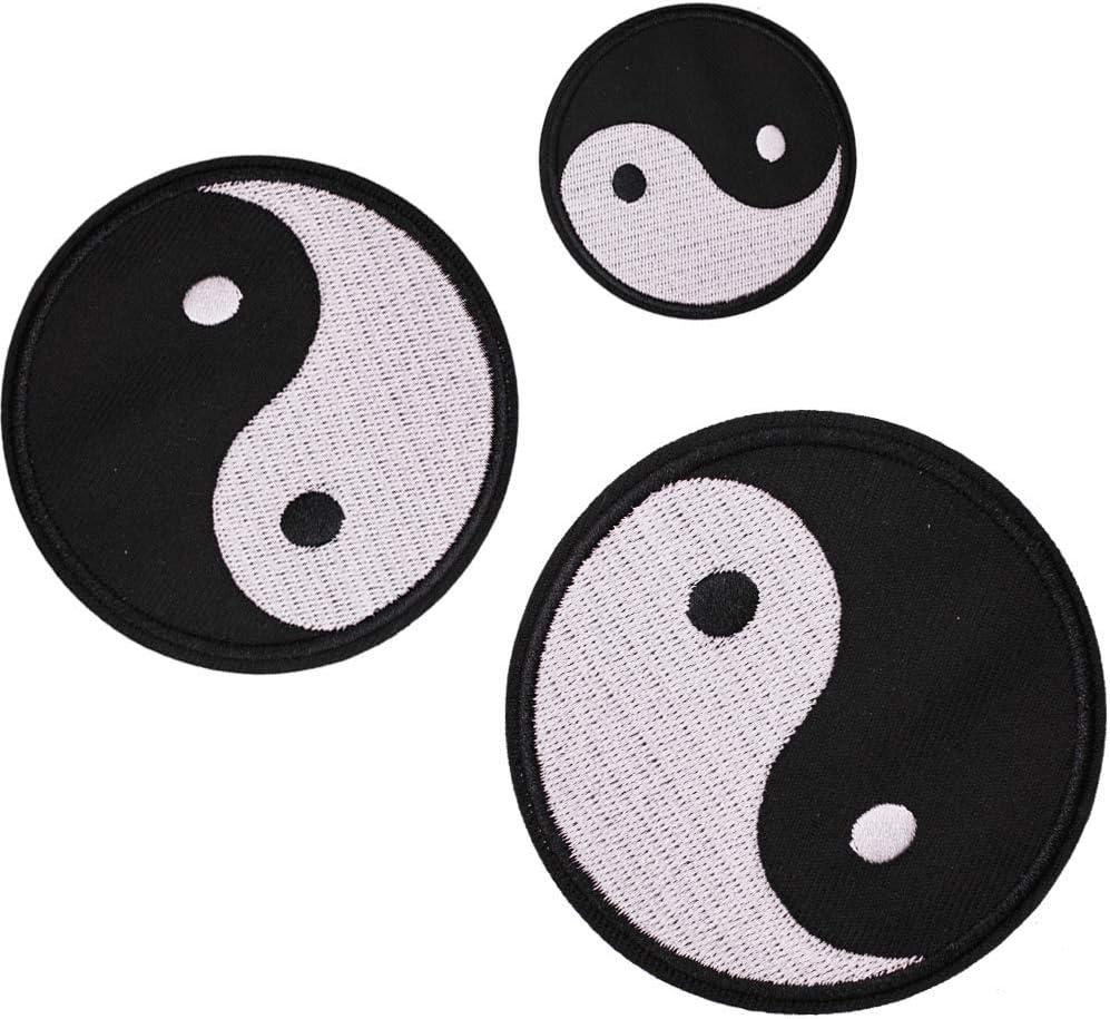 Parches para coser o planchar en U – Yin Yang Tai Chi: Amazon.es: Juguetes y juegos