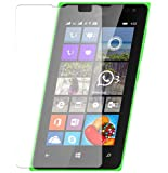 M.G.R Microsoft Lumia 435 [3D Touch Compatible - Tempered Glass] Screen Protector with [9H Hardness] [Premium Crystal Clarity] [Scratch-Resistant]