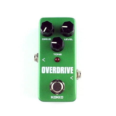 firlar Mini efecto Mini Overdrive Pedal Portátil Guitarra Efectos ...
