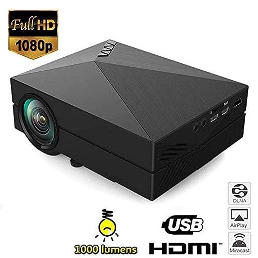 Mini proyectores Proyector de video HD, mini proyector de ...