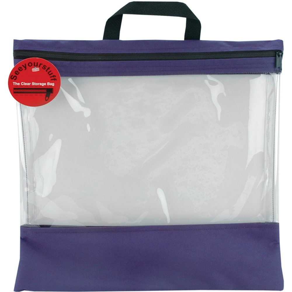 Amazon.com Lyle 16-Inch by 16-Inch See Your Stuff Clear Storage Bags Purple  sc 1 st  Amazon.com & Amazon.com: Lyle 16-Inch by 16-Inch See Your Stuff Clear Storage ...