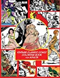 Vintage Classic Comic Colouring Book For Adults (Creative Coloring Inspirations)