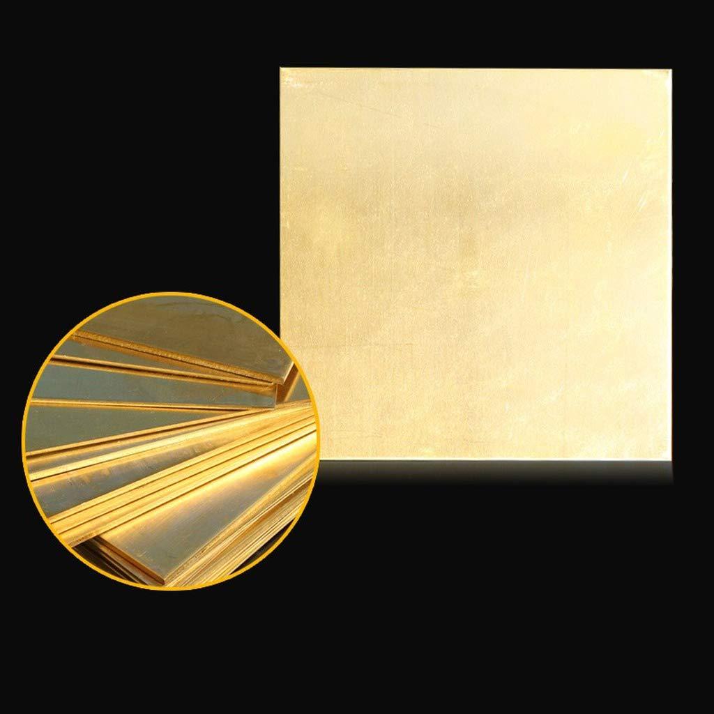 100 1 piastra in ottone ottone piastra piastra ottone blocco fai da te piastra di rame 1 100 0.8mm