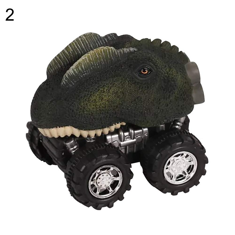 yanbirdfx Creative Pull Back Dinosaur Vehicle Simulation Model Kids Children Playing Toy - 2#