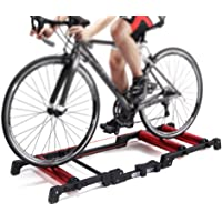 RanBB Indoor Bicycle Cycling Parabolic Roller Trainer Indoor Bike Bicycle Exercise 150KG