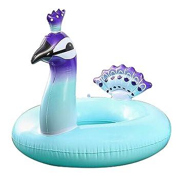 Cebelle Flotador Inflable de la Piscina para niños / Adultos Peso por Debajo DE 75 kg,Anillo de natación Juguetes de Piscina Verano al Aire Libre: ...