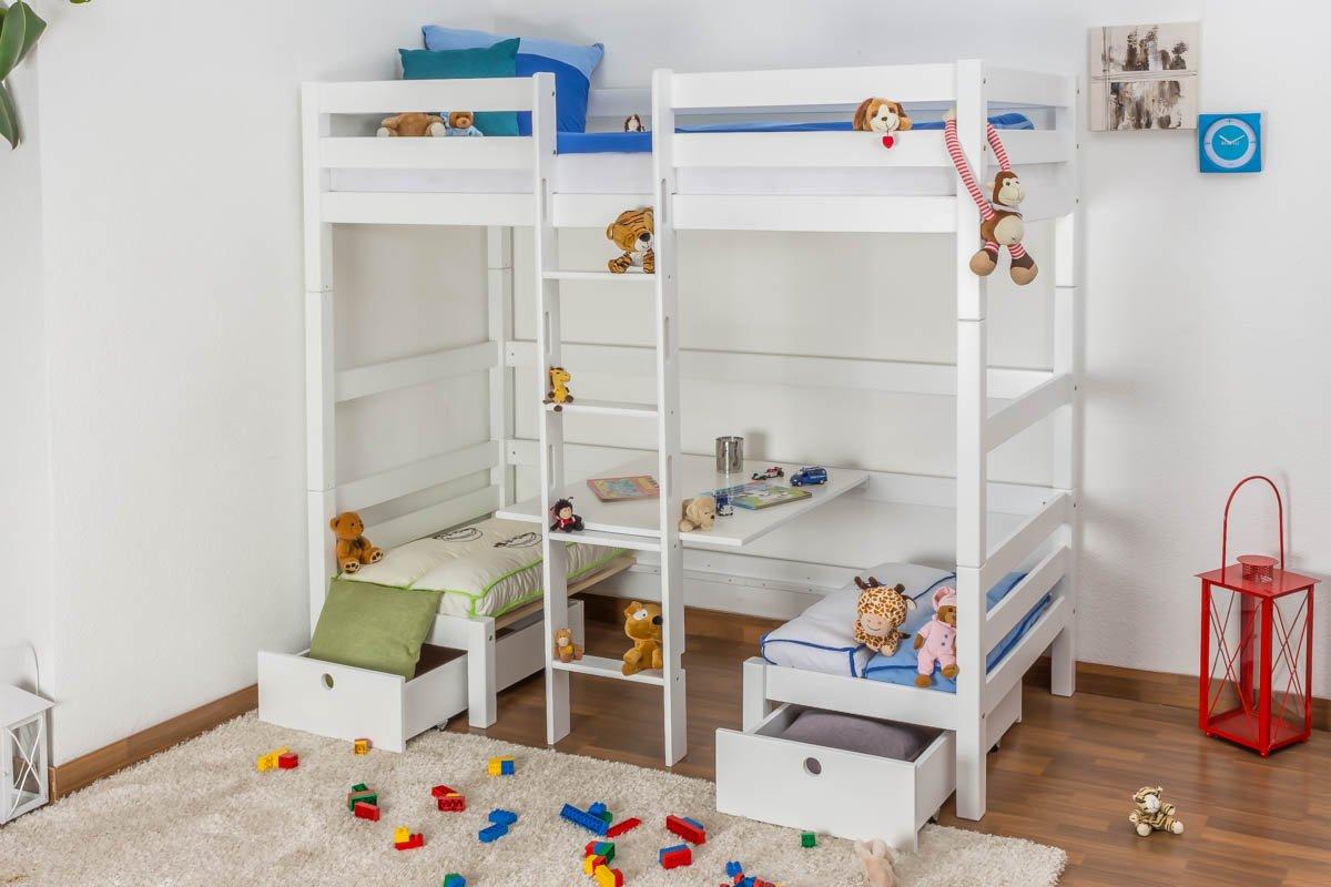 umbaubares hochbett simple kinderbett hochbett umbaubar with umbaubares hochbett simple. Black Bedroom Furniture Sets. Home Design Ideas