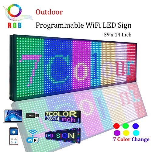 Wifi Led Sign Programmable