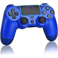 Juego Game Controller voor PS4, draadloze controller voor Playstation 4 met Dual Vibration Game Joystick, Blue (Wave…