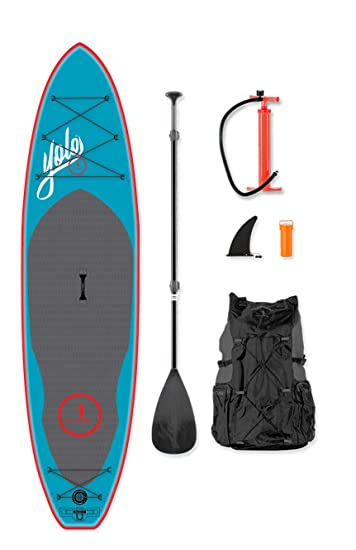 Amazon.com: YOLO Board - Tabla hinchable para remo de 11.0 ...