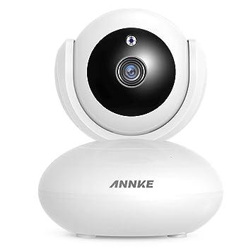 Amazon.com: ANNKE Cámara IP 1080P, cámara de seguridad ...