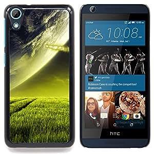 """A-type Arte & diseño plástico duro Fundas Cover Cubre Hard Case Cover para HTC Desire 626 (Hermoso planeta Paisaje Hierba"""")"""