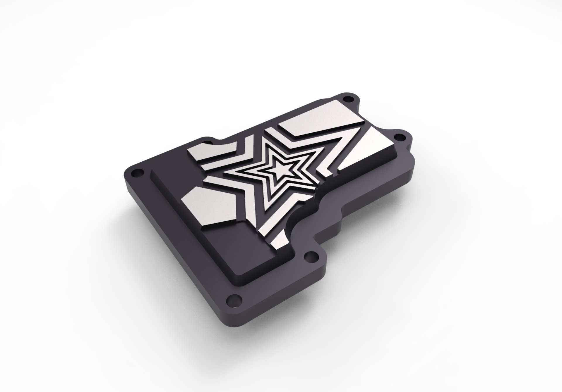 CONTRAST CUT TRANSMISSION TOP COVER FIT FOR HARLEY DAVIDSON 2006-17 DYNA MOVING STAR