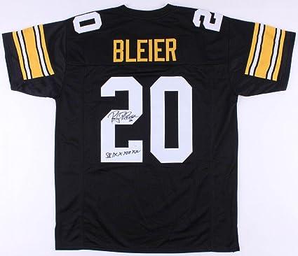 9a42f7438 Signed Rocky Bleier Jersey - Custom) - Coa! - JSA Certified - Autographed  NFL