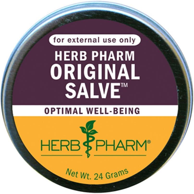 Herb Pharm Original Salve with Comfrey and St. John s Wort – 24 Grams